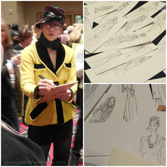Drawing at THE PHILADELPHIA FLOWER SHOW