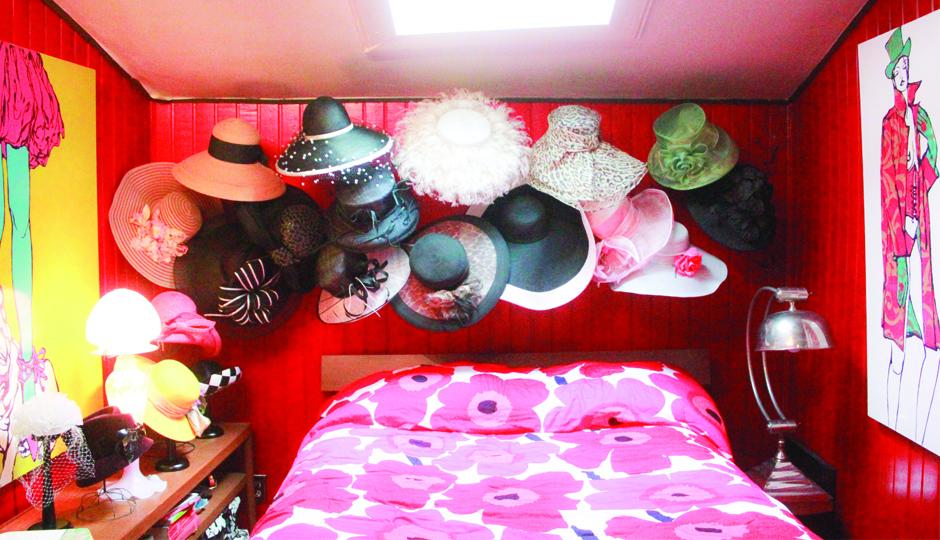 Denise Fike Hat Room