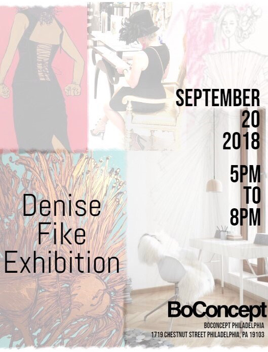BoConcept Denise Fike Exhibition