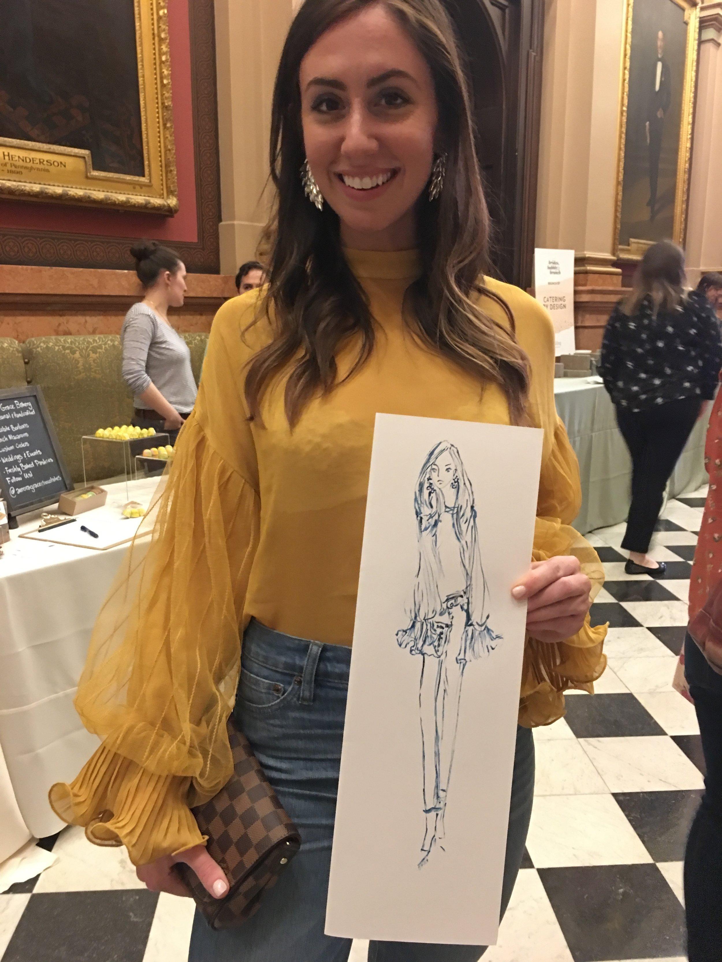 Denise Fike Live Event Illustration