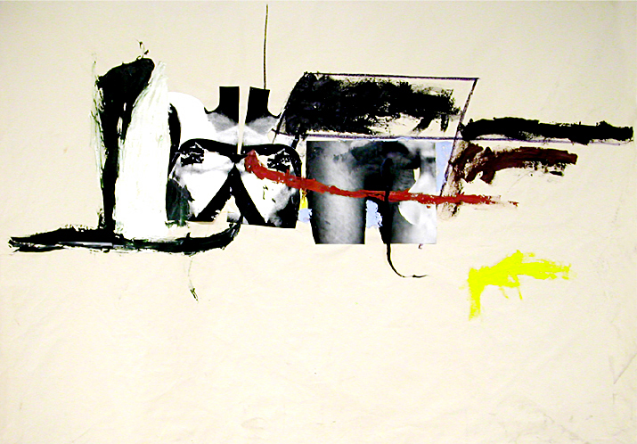 Fran- 84x120 in; oil, acrylic, injket on canvas; 2005 -  The Whitney Museum NYC