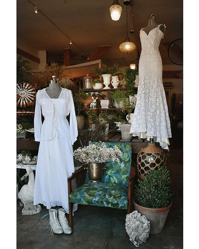 For different brides, we've got the vibes. . . . #blushbyjml #vintageweddingdress #theseareafewofourfavoritethings #rubyrose805