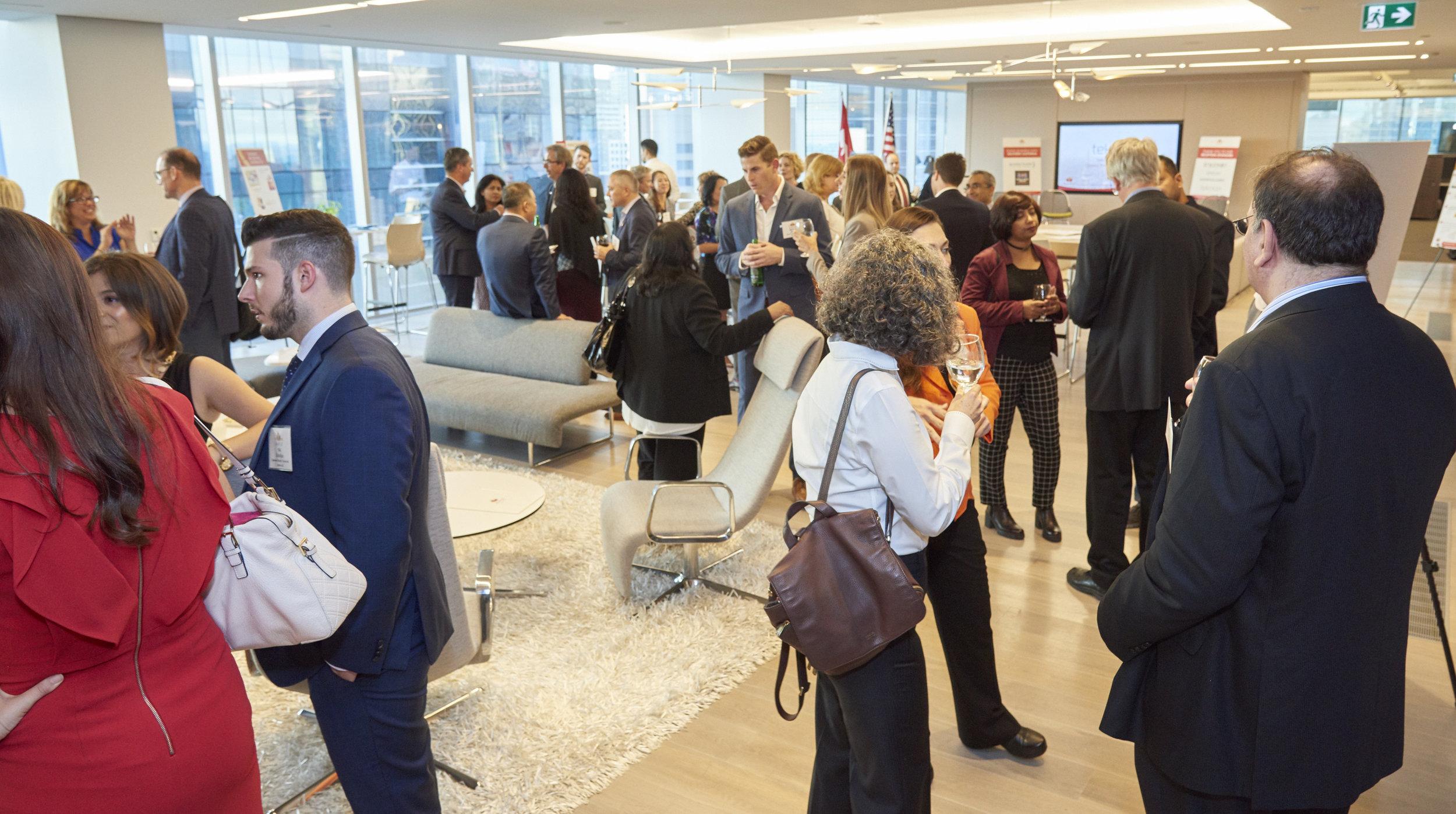 MAPLE Toronto Reception at Teknion Collaboration Hub - September 2017