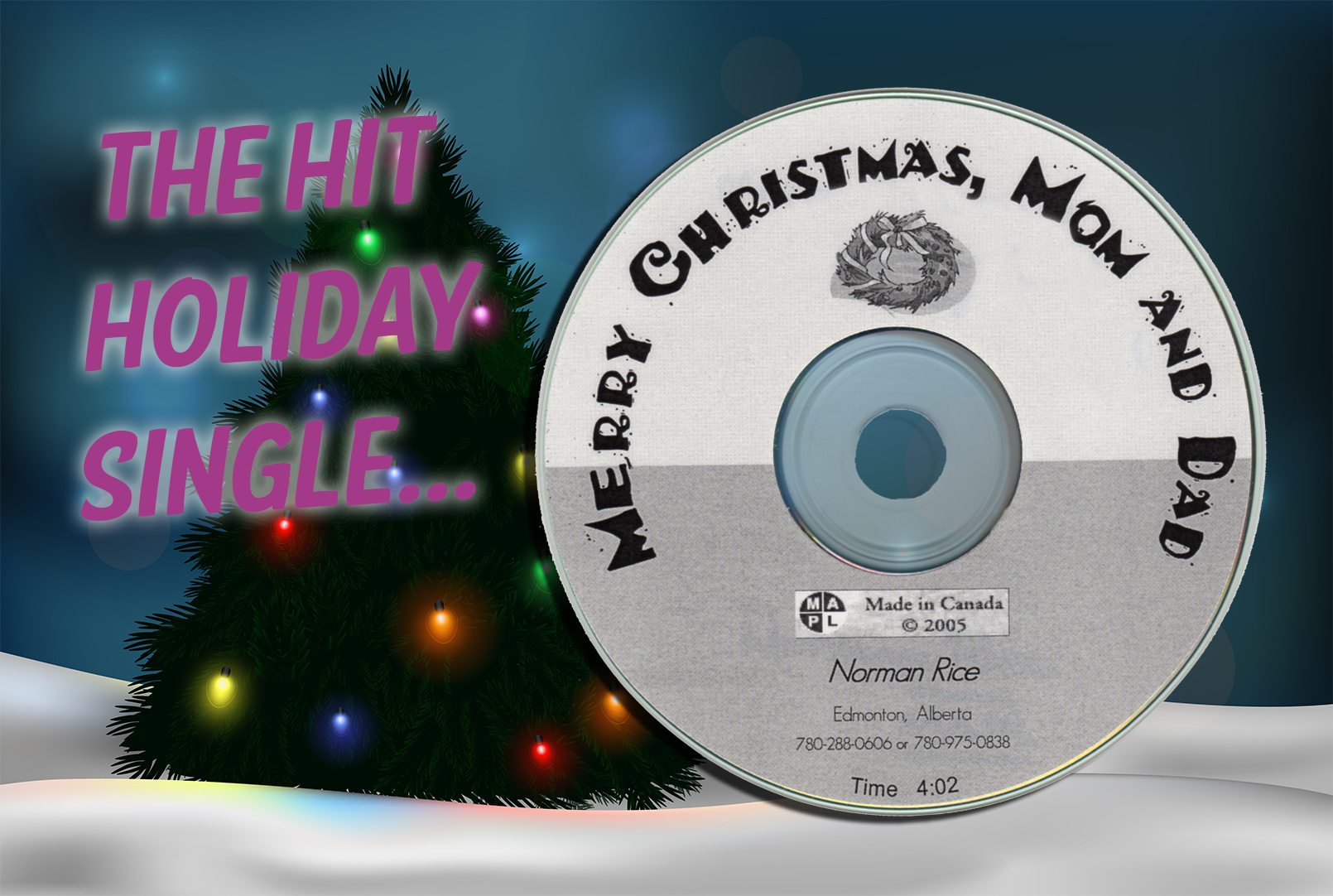 Norman Rice - Merry Christmas Mom & Dad