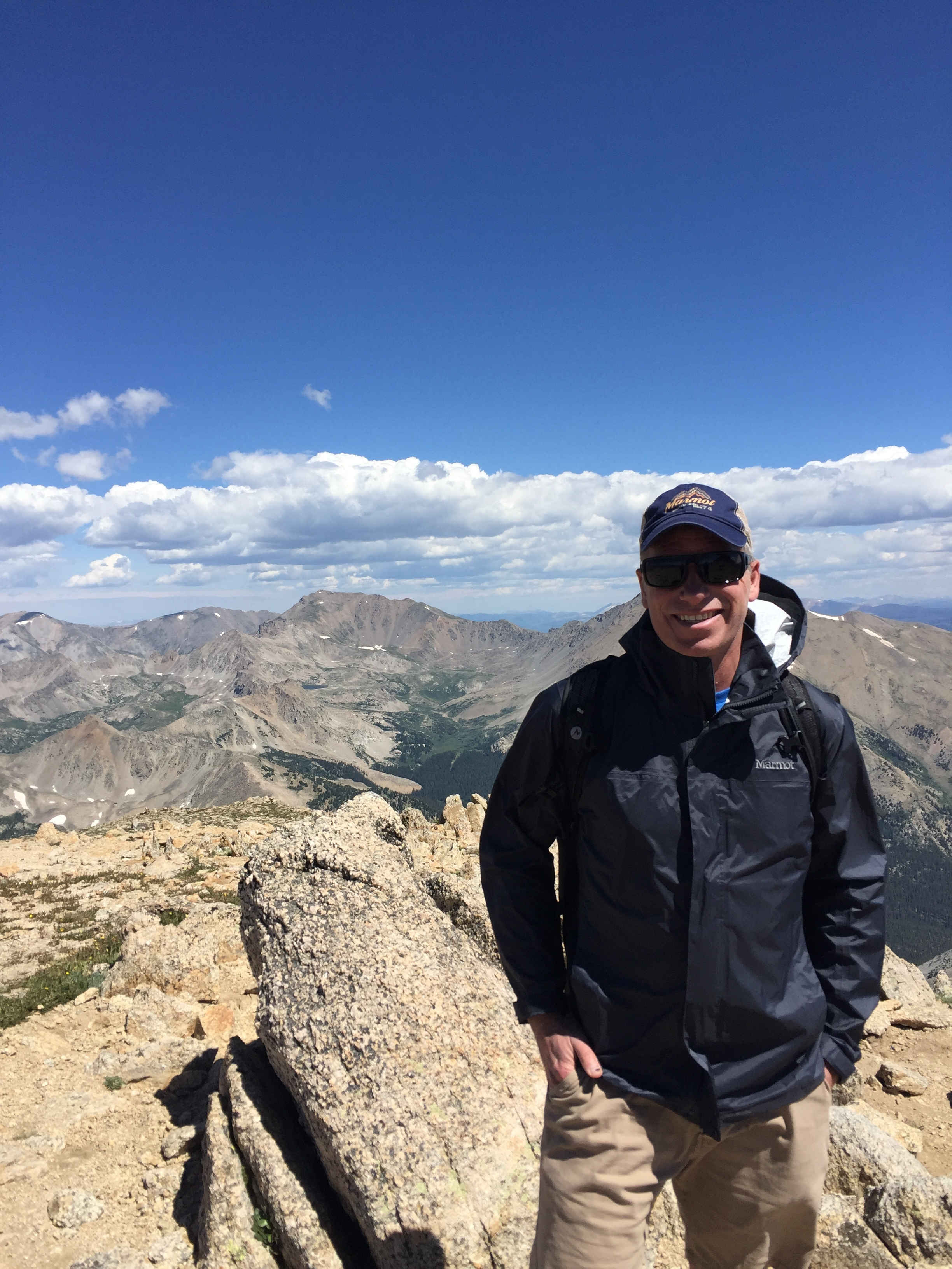 Mt Yale, Colorado 14,196' August 17,  2019
