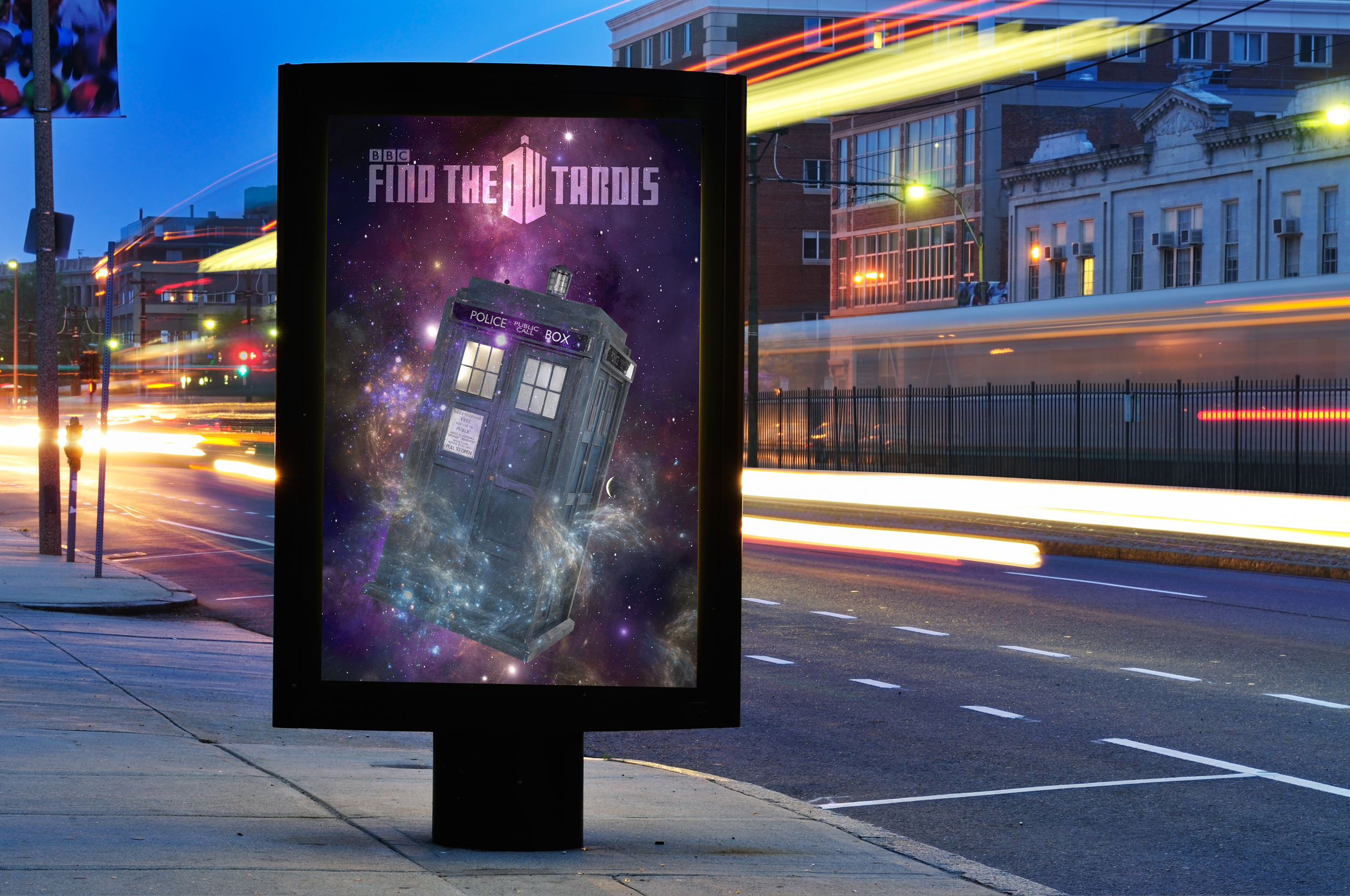 """""""Find the Tardis"""" Campaign"""