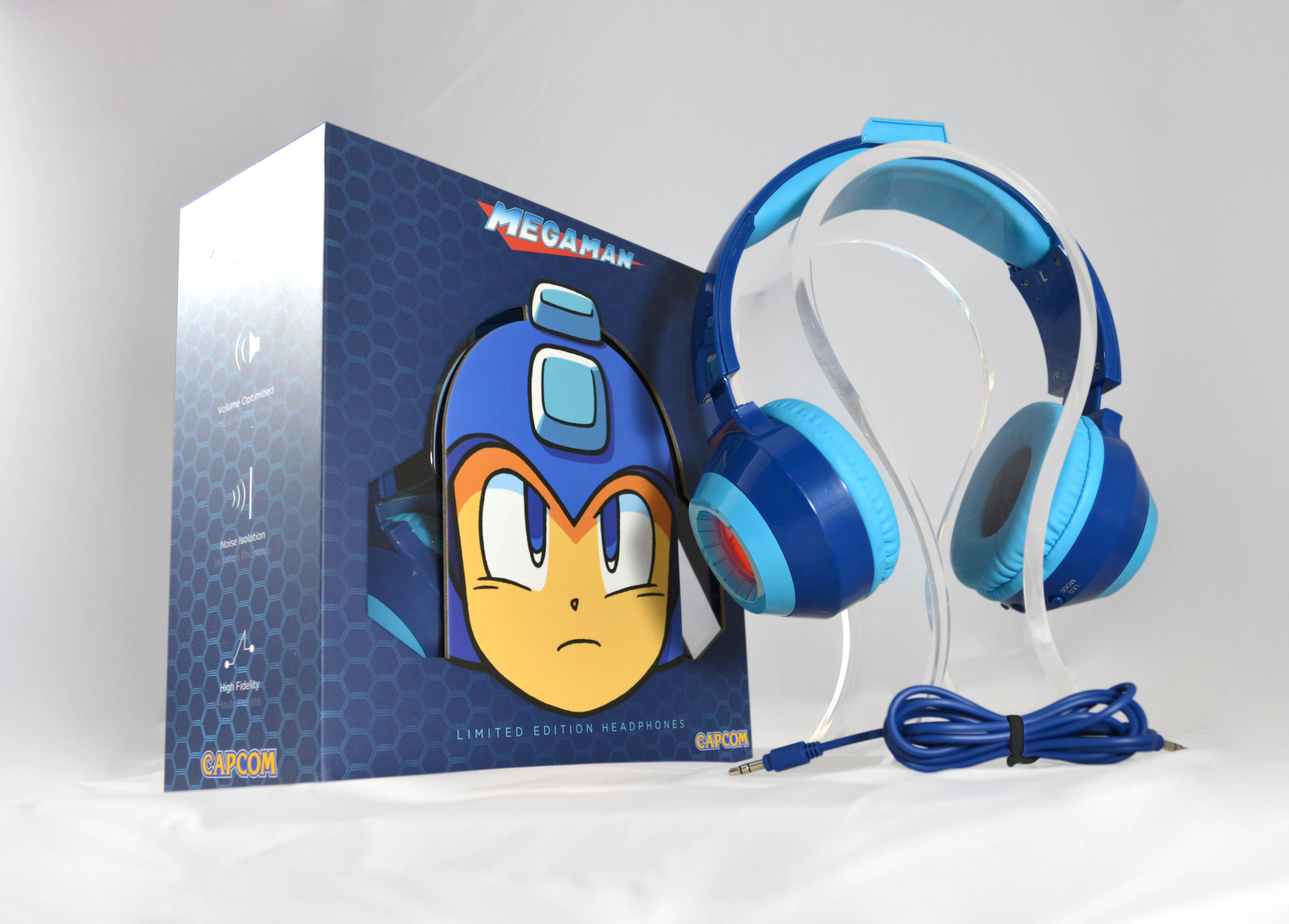 Official Mega Man™ Limited Edition Headphones