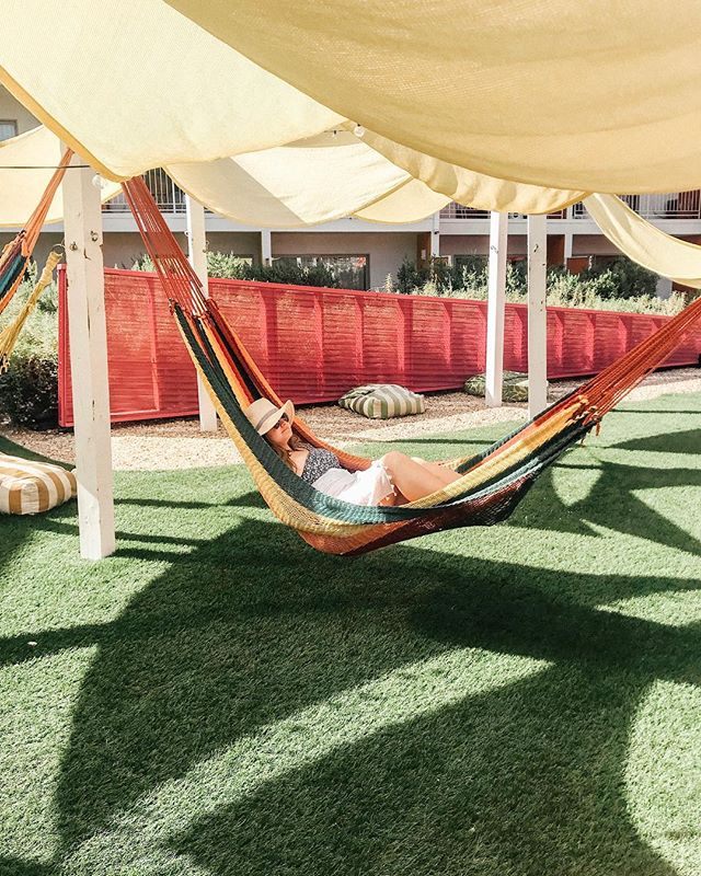 TFIF: thank f*ck it's Friday (although unfortunately sitting on my couch and not fancy Palm Springs hammock)