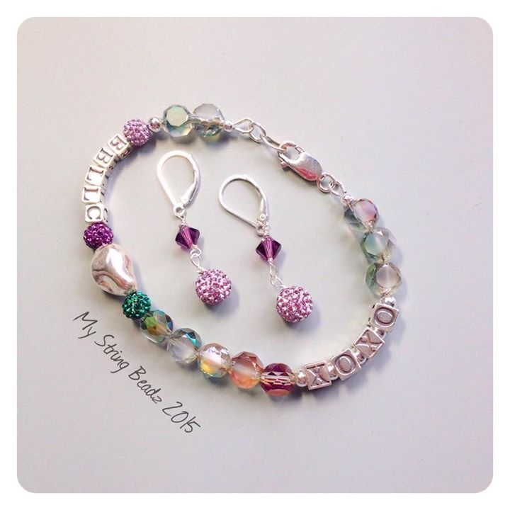 Best Buds Bracelet and Earring Set
