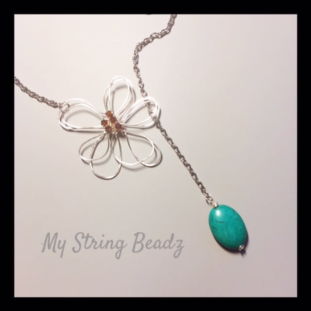 Fancy Flower Power Lariat...these are available in all kinds of colours...including metal.