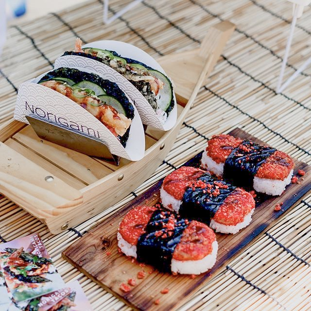 Norigami Tacos