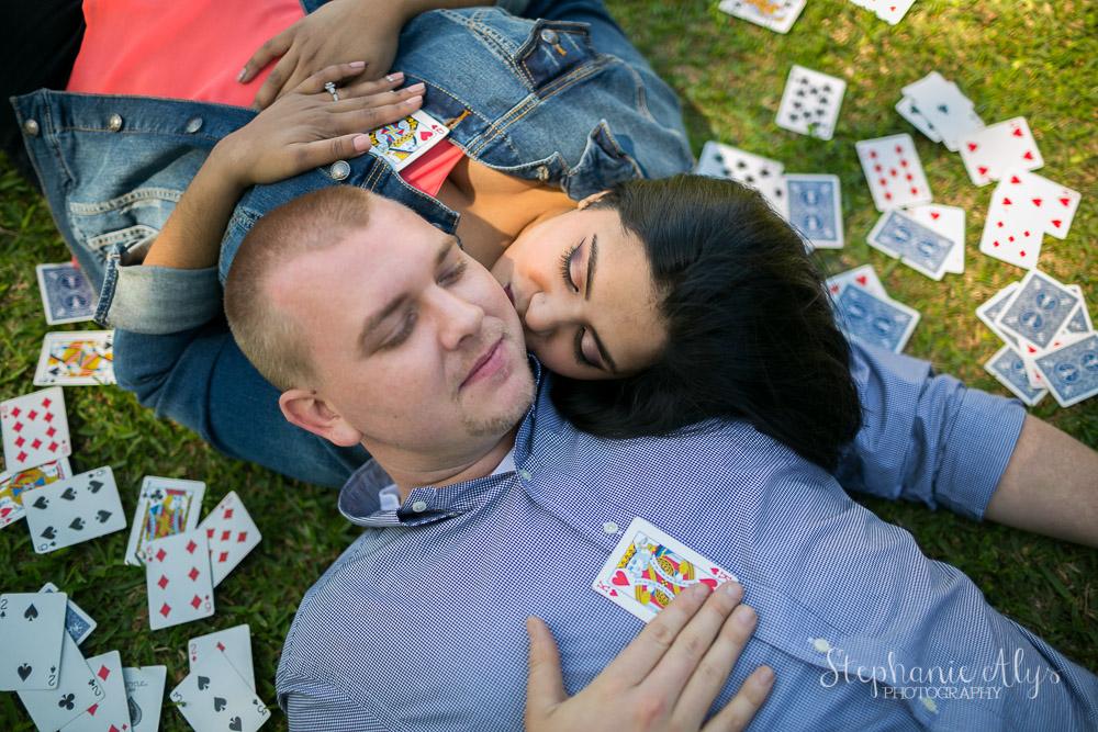 Meena & Adam • Lucky in Love   Cypress, Texas Engagement Photographer