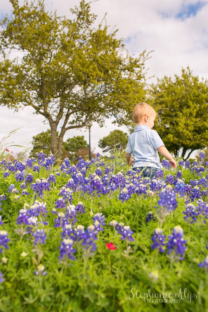 Bluebonnet Mini Session | Cypress Texas Family Photographer | Stephanie Alys Photography | © 2015 Stephanie Alys Photography