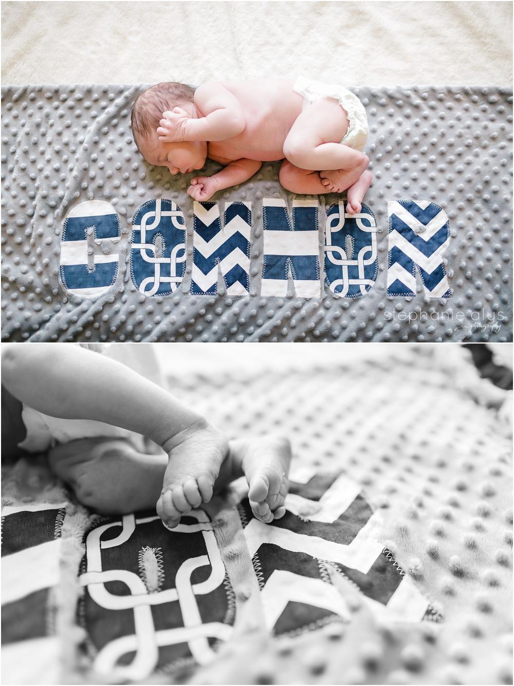 Connor • Cypress, Texas Newborn Photographer   © 2015 Stephanie Alys Photography