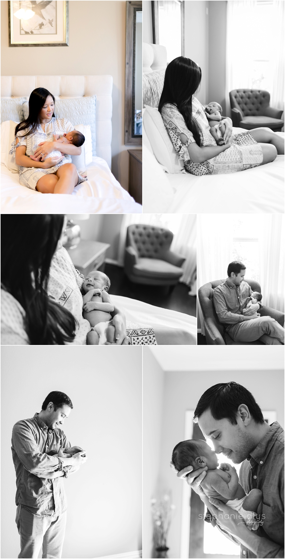 © 2015 Stephanie Alys Photography | Emerson • Cypress, Texas Newborn Photographer