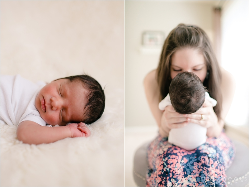© 2017 Stephanie Alys Photography | Cypress TX Lifestyle Newborn Photographer