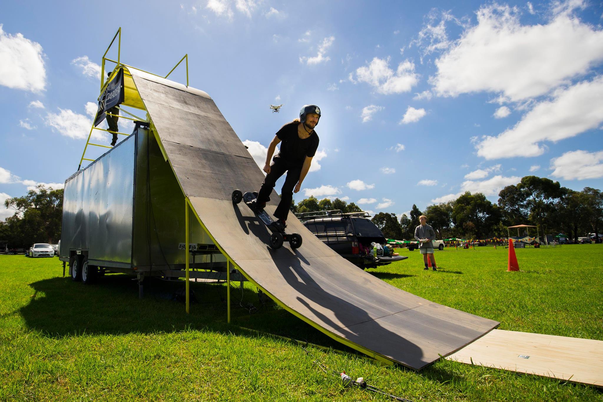 Mountainboard Stunt show, Extreme sports stunt show