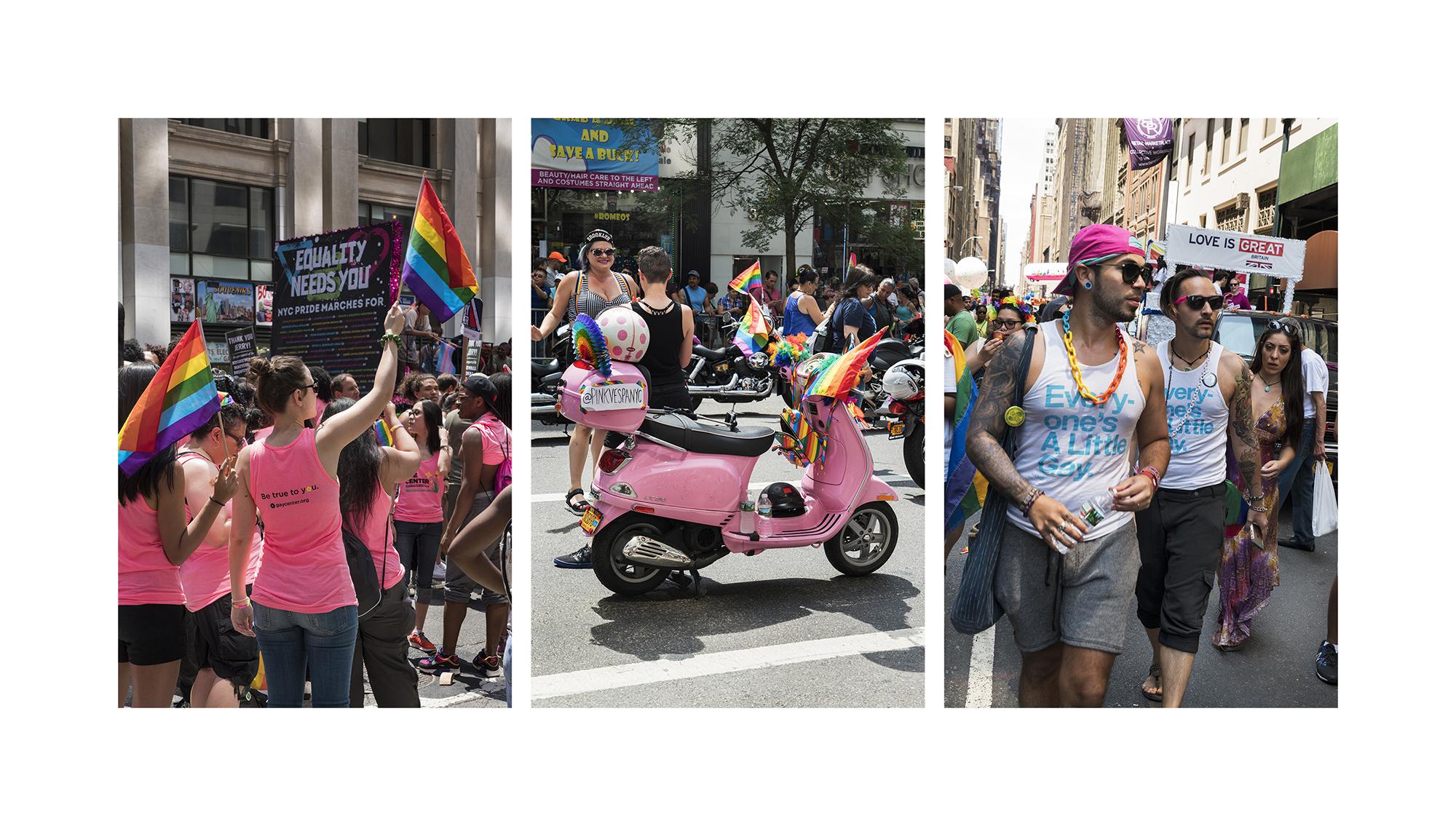Pink,  NYC Pride Parade