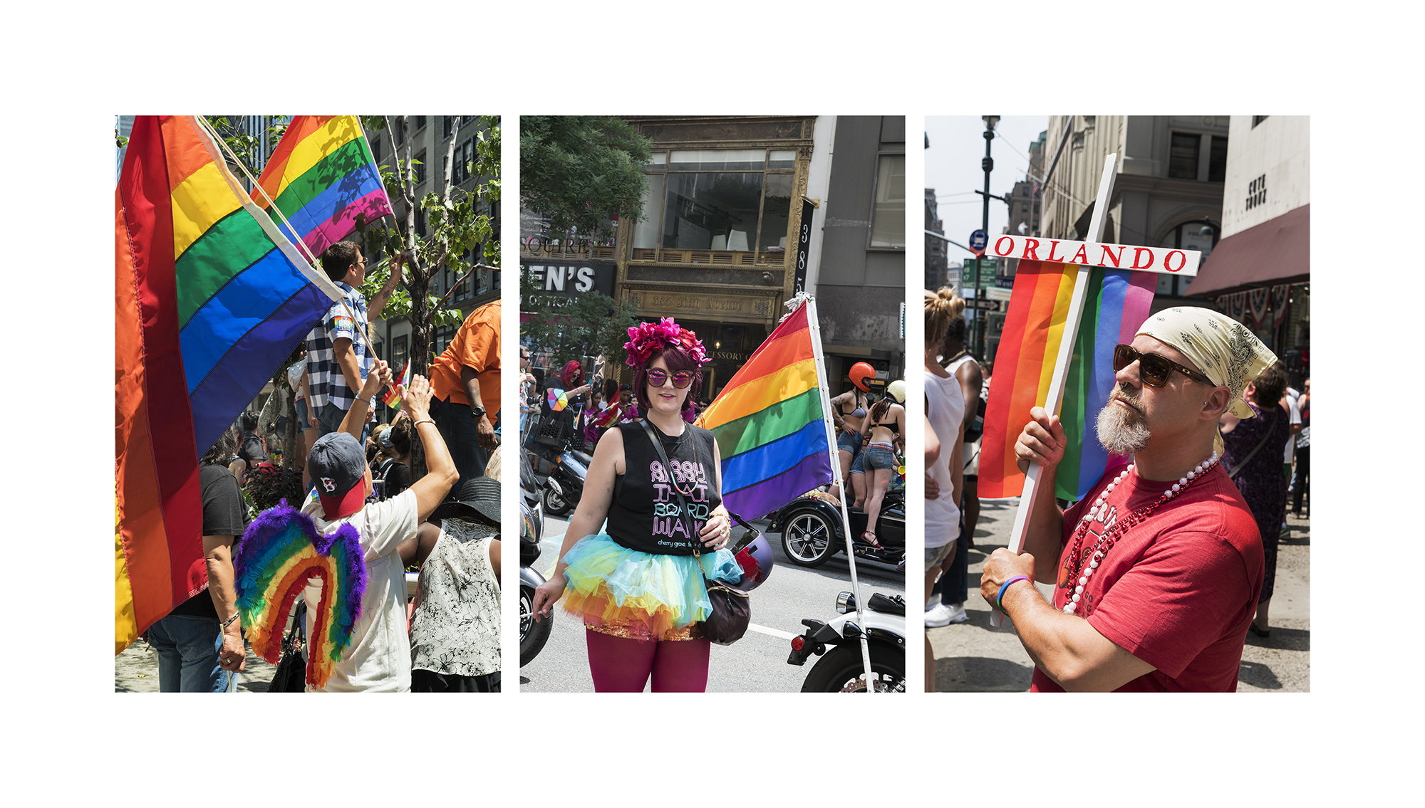 Pride Flags, NYC