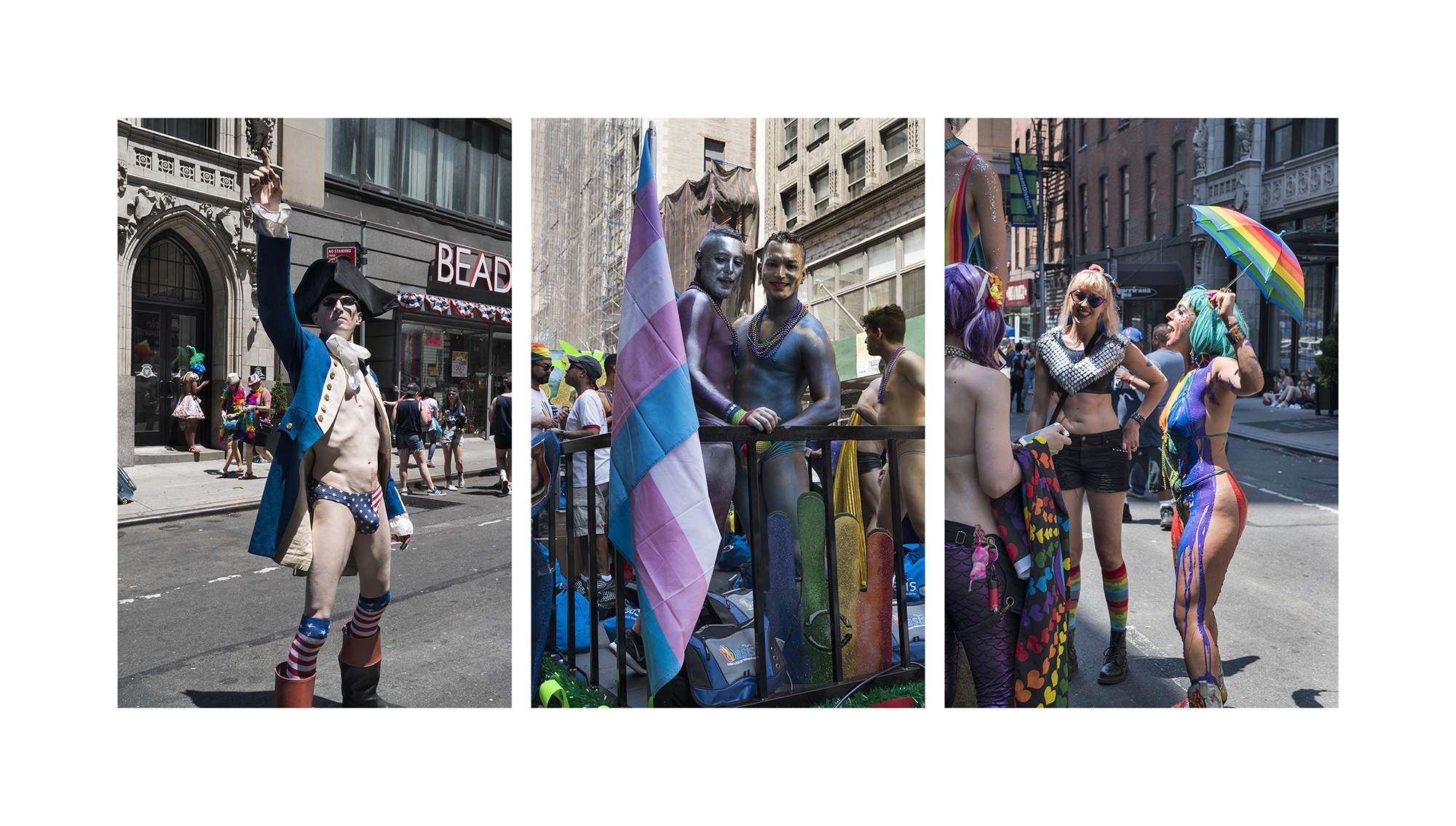 Float Riders, Pride Parade