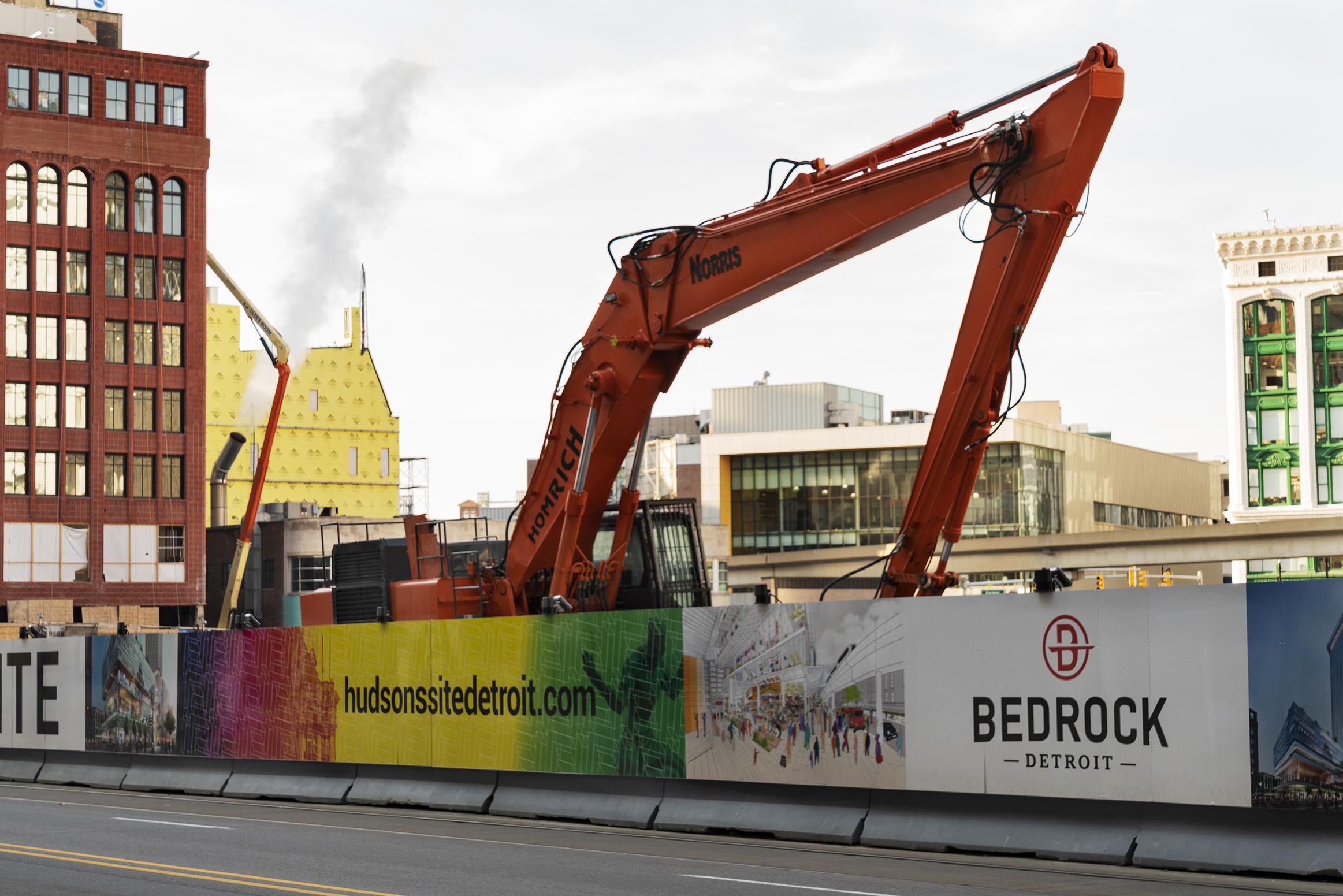 Bedrock Site, Detroit 2018