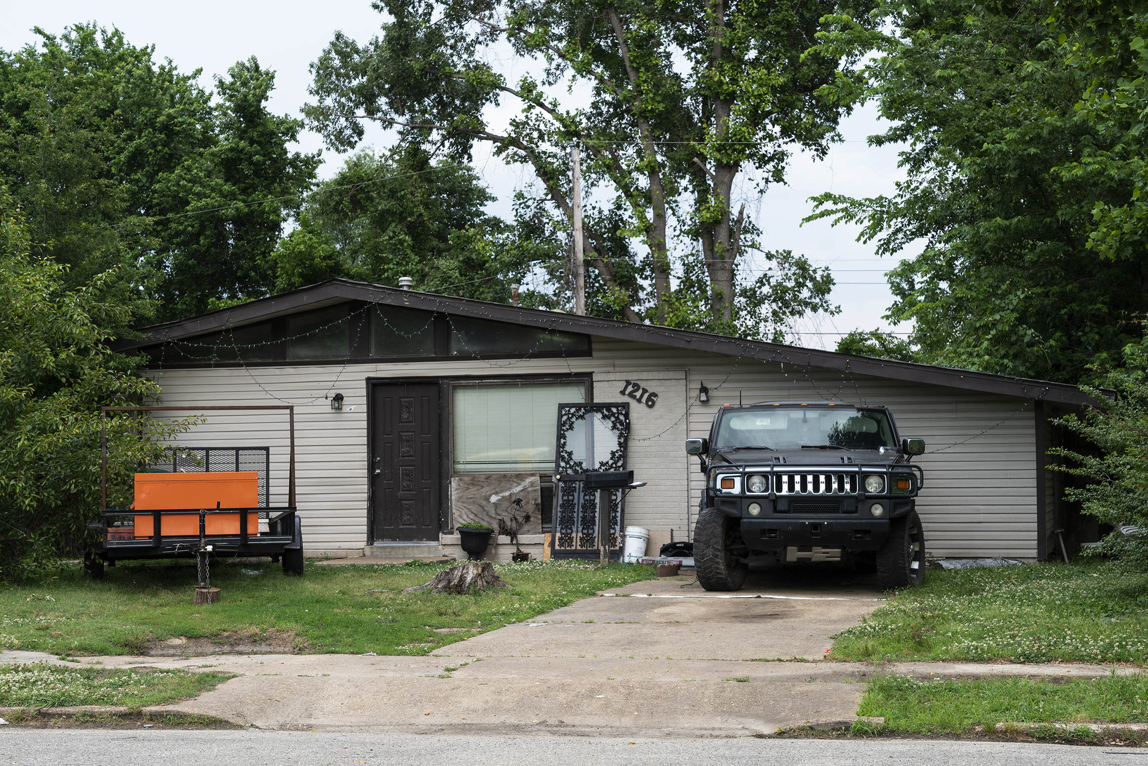 Jeep and Trailer, Memphis 2018