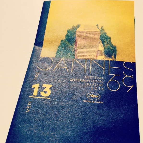 The official Catalogue of CANNES FILM FESTIVAL 2016