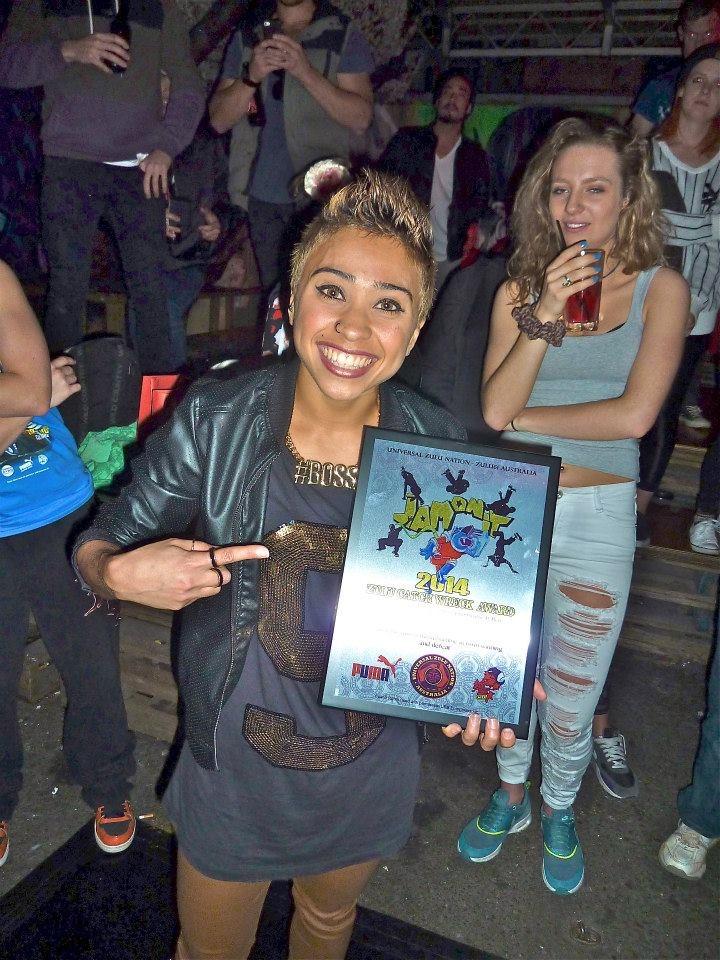 Zulu Catch Wreck Award 2014