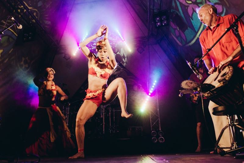 Katia Demeester @ Island Vibe Festival 2014 - Brisbane, AUS