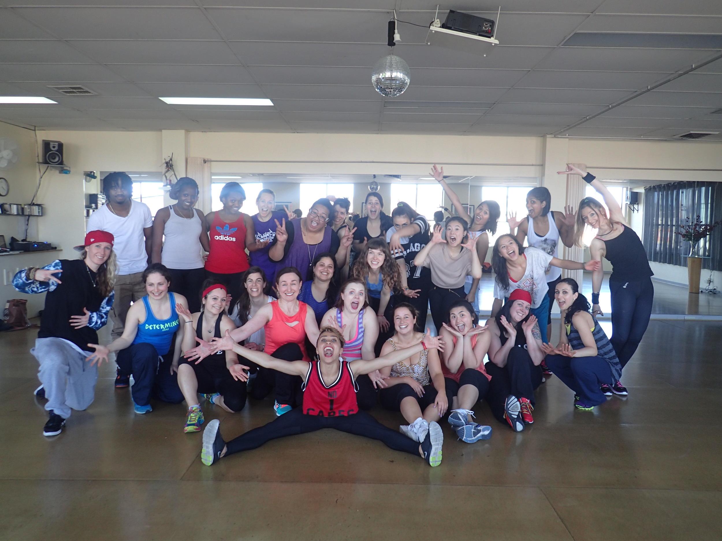 DANCEHALL Workshop Sep 2014