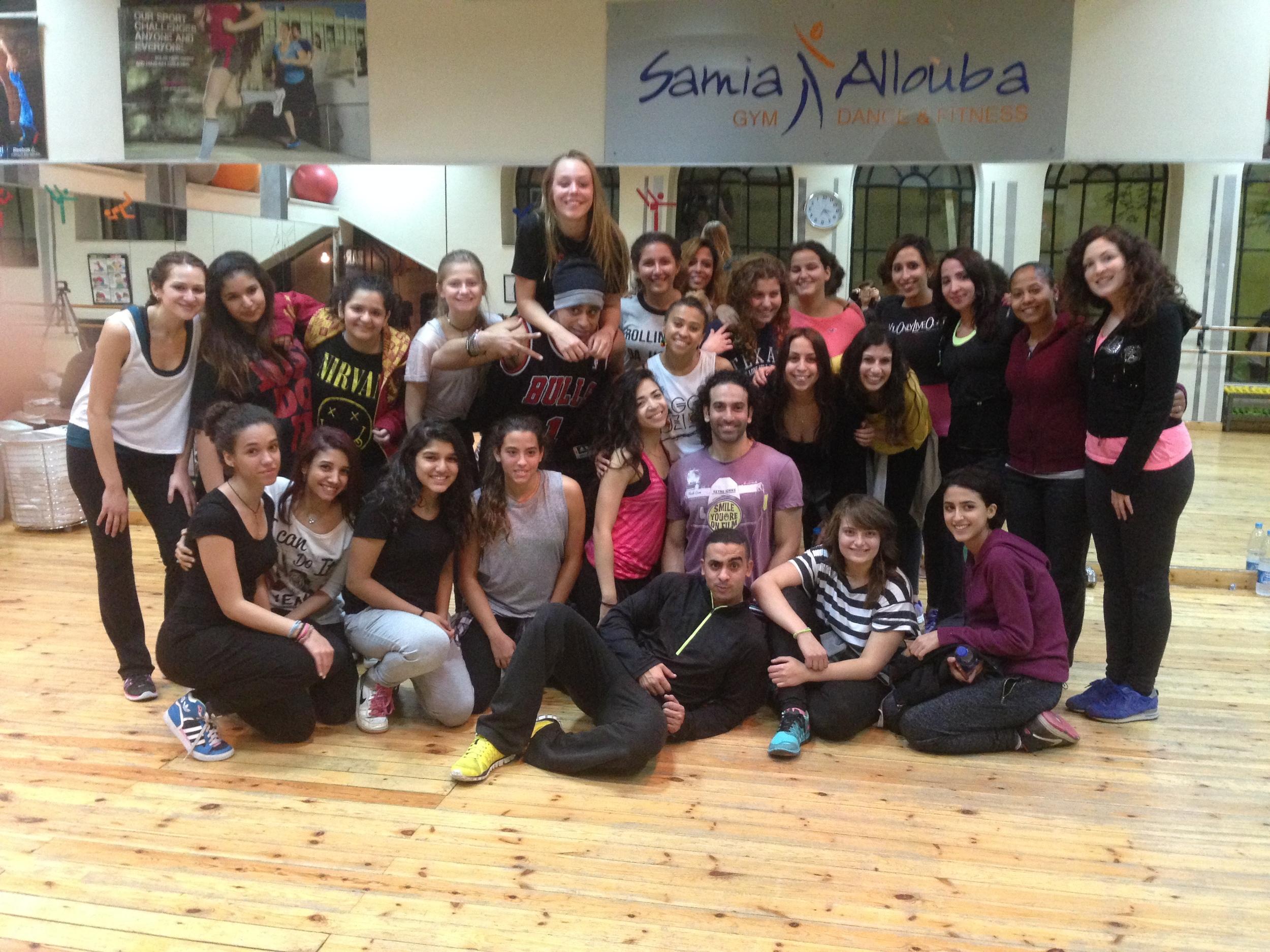 Dancehall Workshop Jan 2015