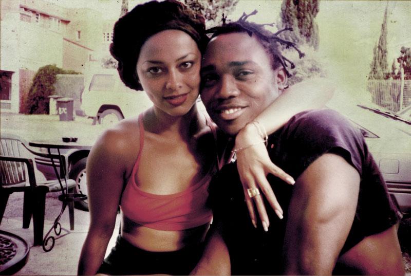 Maya Sheridan-Martnez with Kofi Walker, founder of the  Afro-Carribean Dance Theatre
