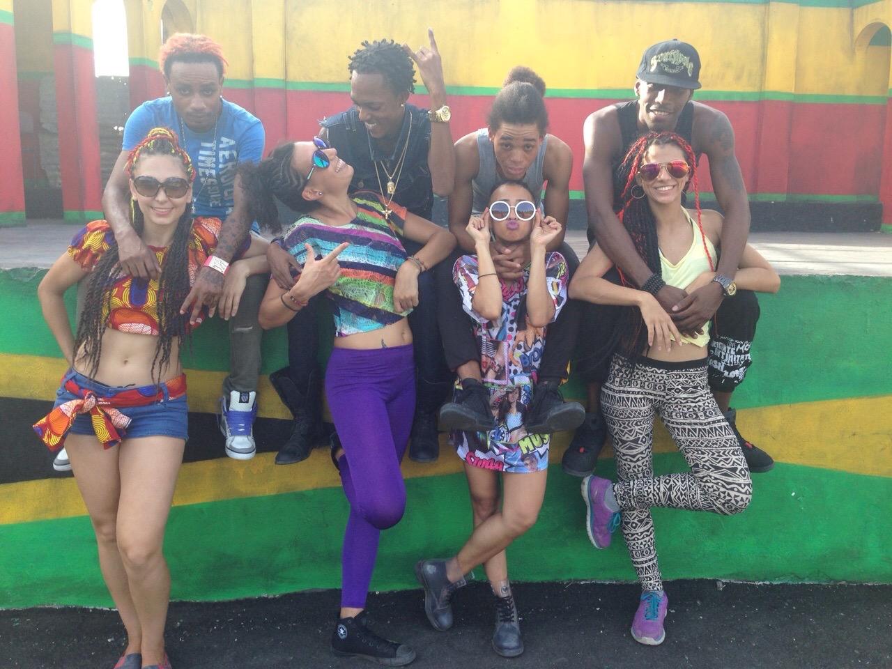 An International Dancehall Family