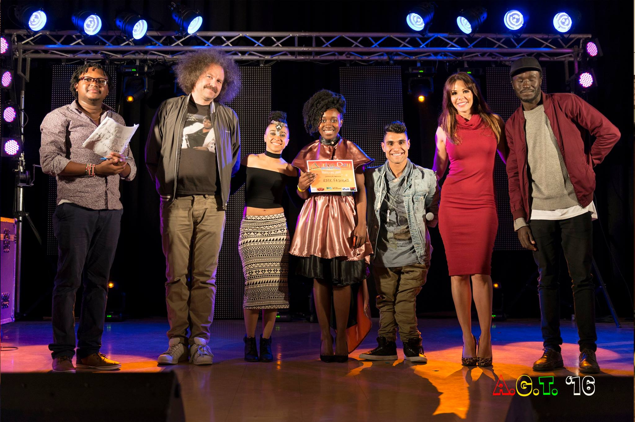 Africa's Got Talent 2016 Judges and Winner - Melbourne, AUS