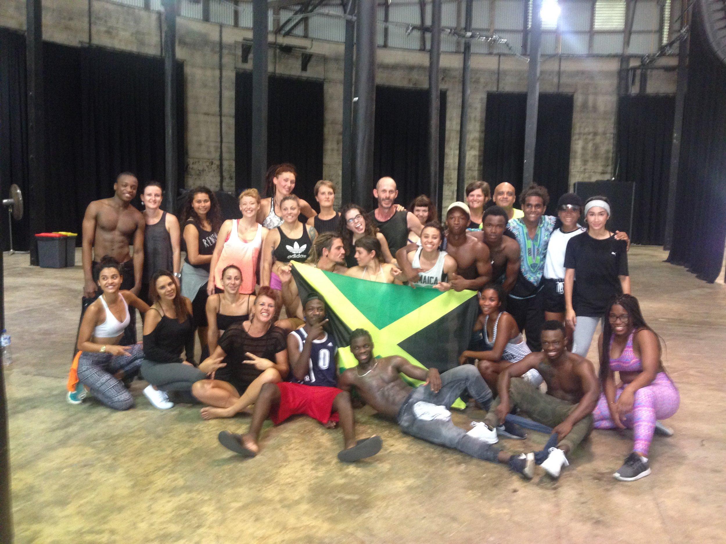 DANCEHALL Workshop Nov 2016