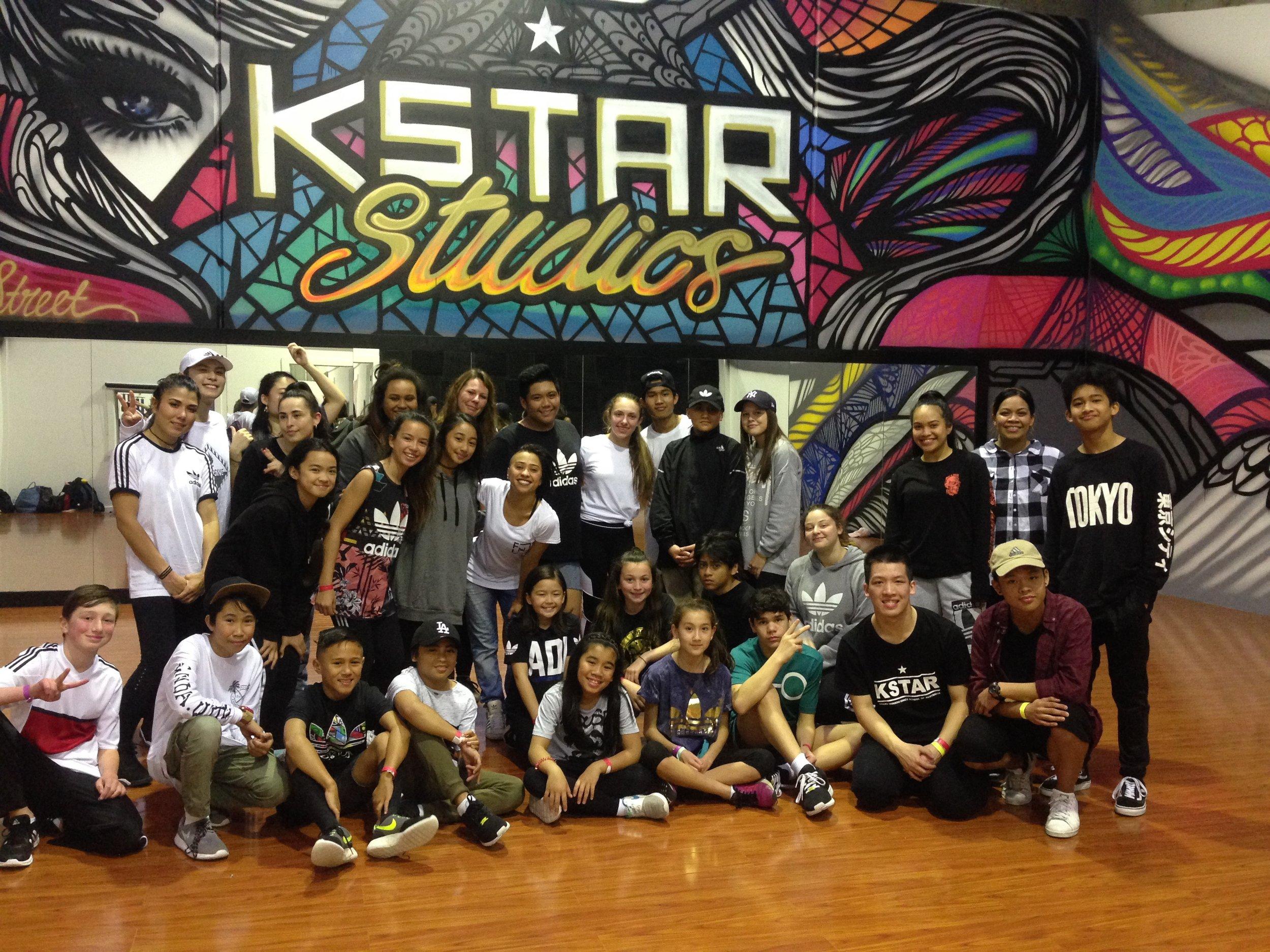 KSTAR Studios Grand Opening DANCEHALL Workshop Sep 2016