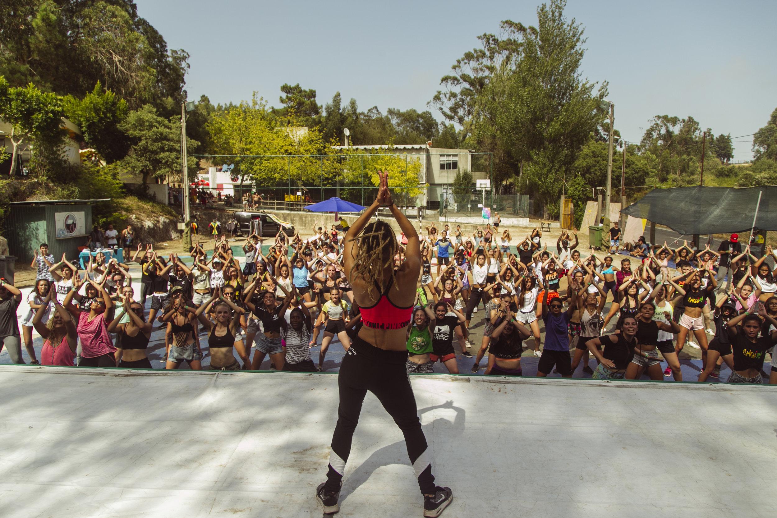 DANCEHALL Workshops Aug 2017