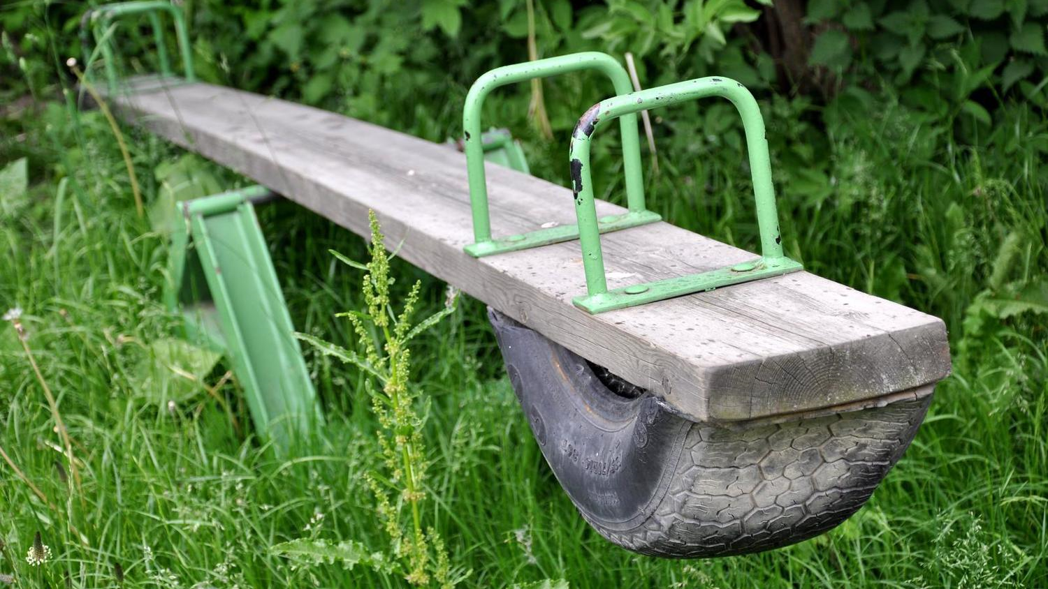 Abandoned Seesaw by  Jan