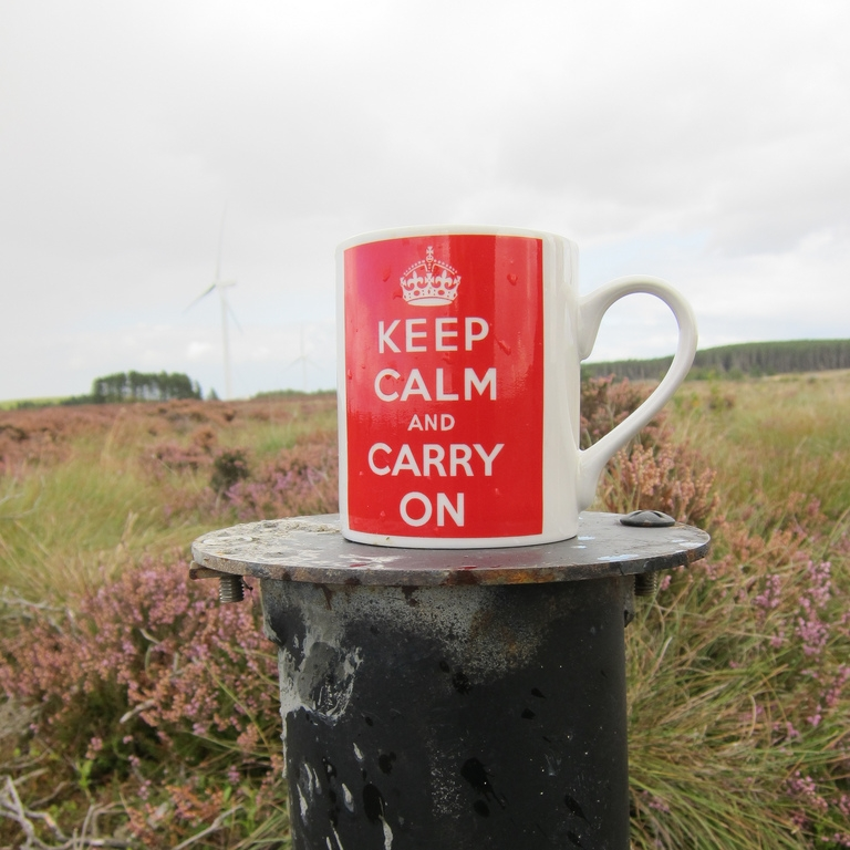 Keep calm and carry on by Dougie Nesbit