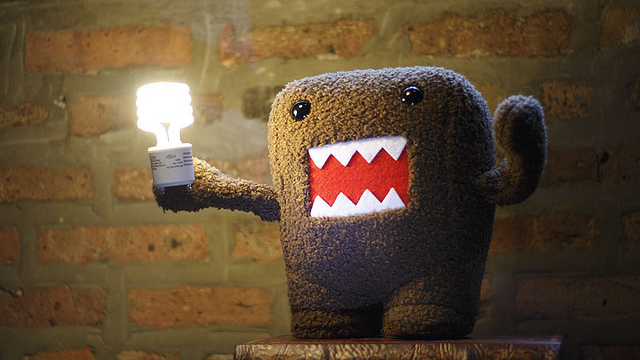 0233 Domo Lightbulb by  Aaronth