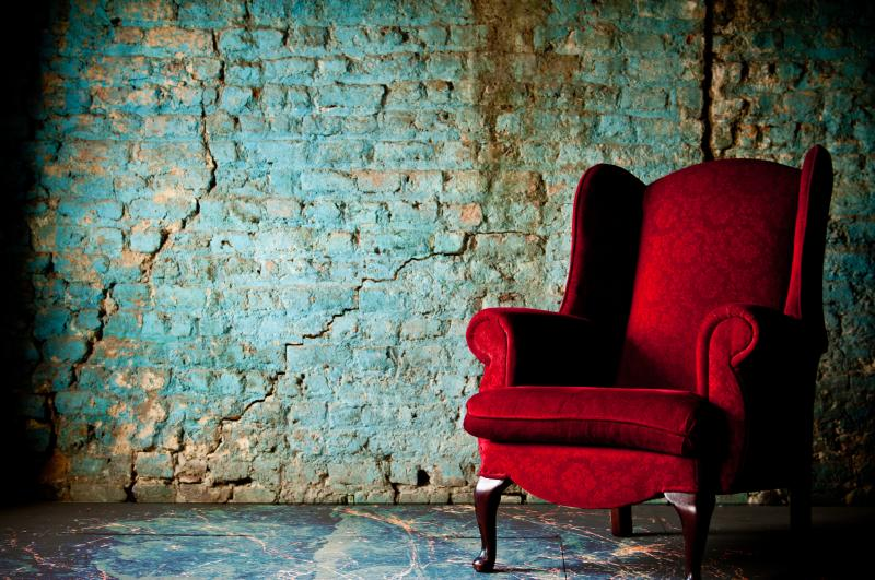 The chair in the attic by Paolo Marconi
