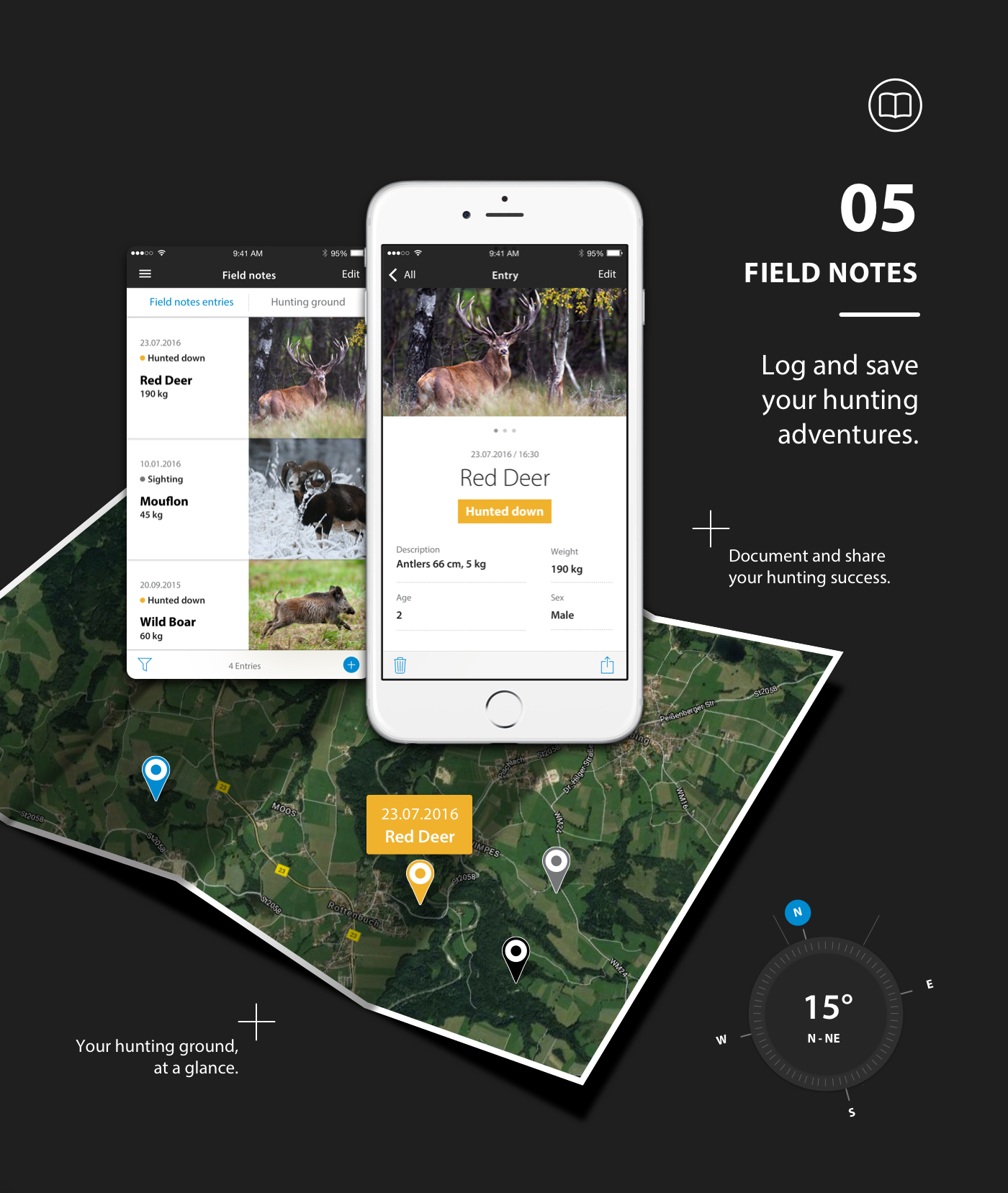 ZEISS HuntingApp field notes