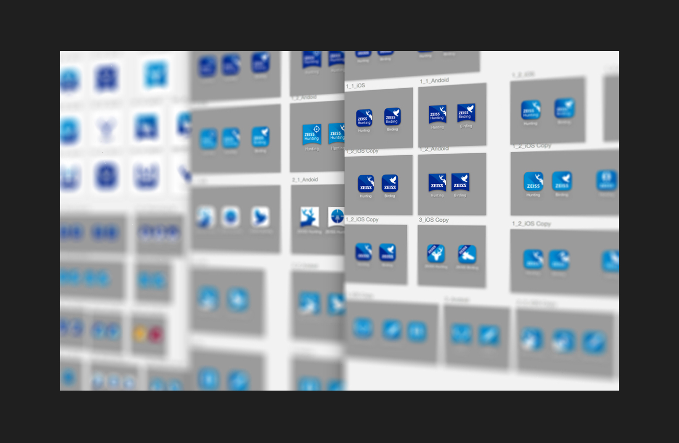 ZEISS HuntingApp Icons Android IOS