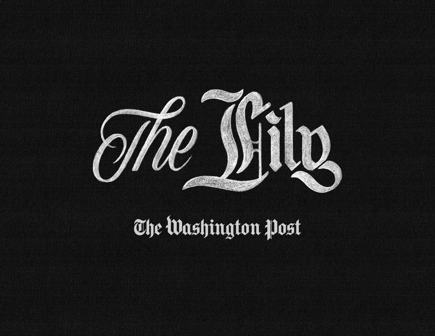THE WASHINGTON POST - THE LILY  LOGO DESIGN