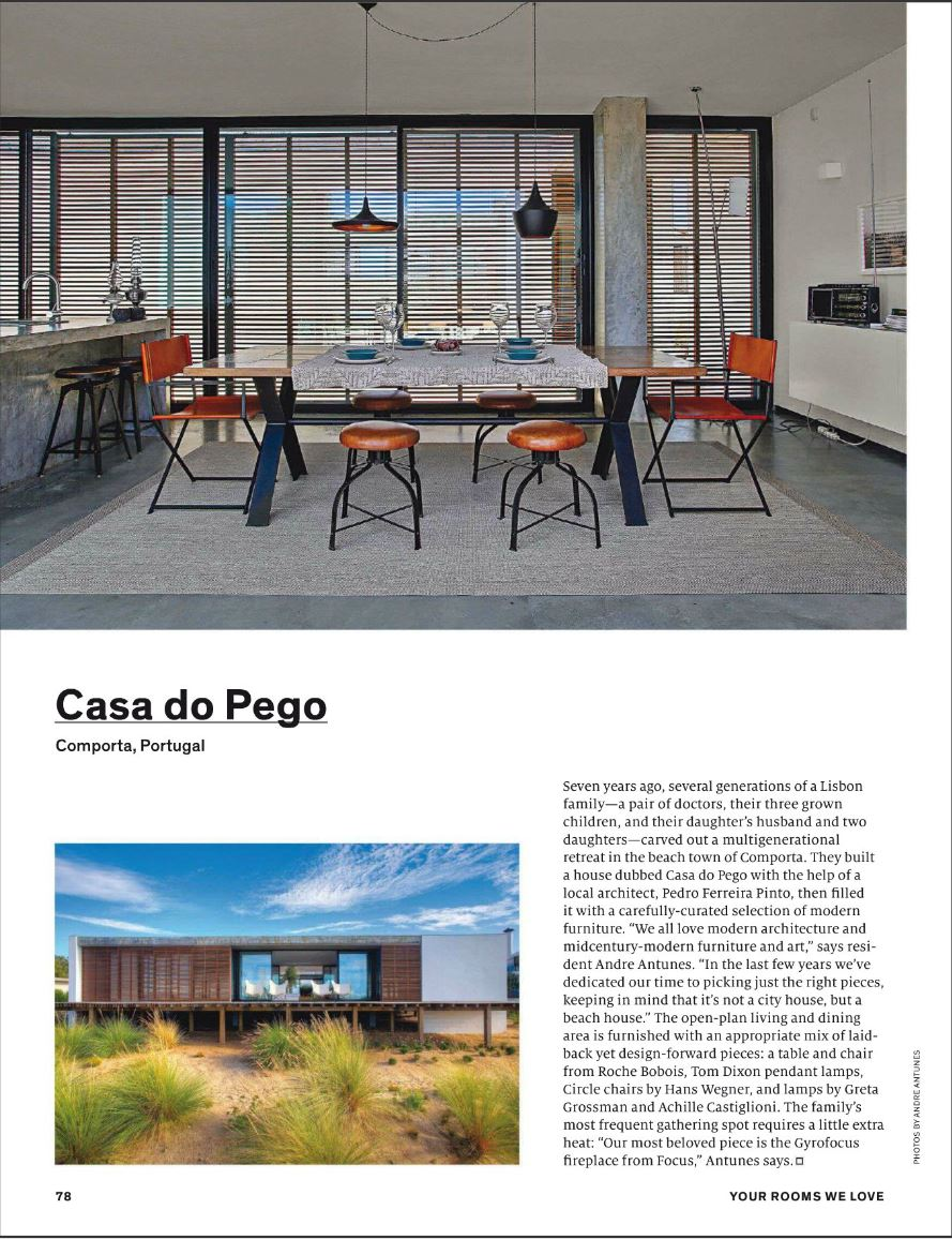 Casa do Pego on Dwell