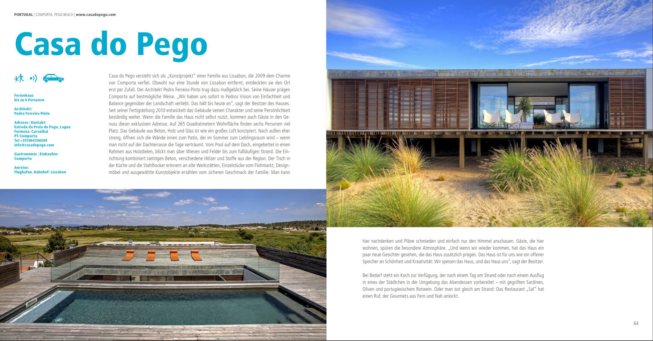 Casa do Pego in Holiday Architecture