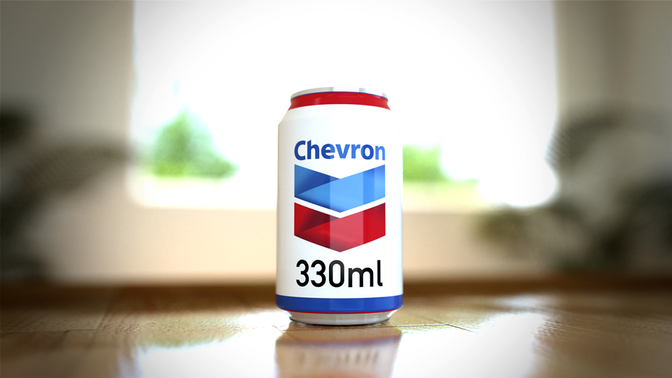 Volume of CO 2  attributable to Chevron in a room 5.4 x 5.4 x 2.7m at 400ppmv concentration.