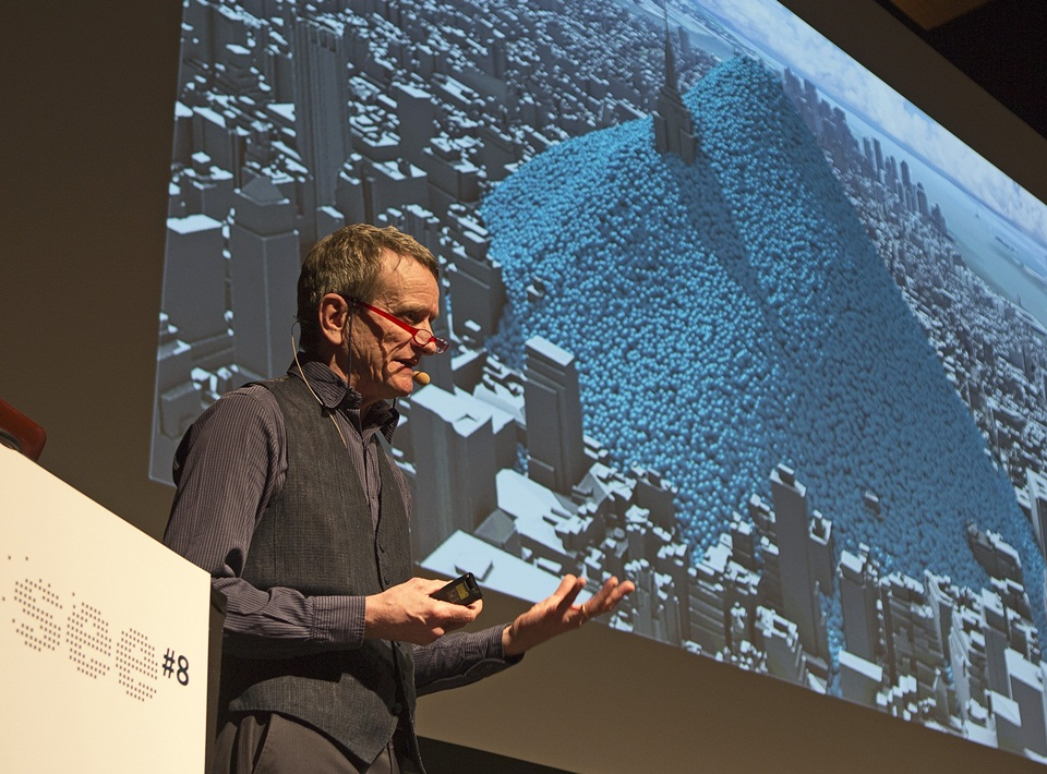 Antony Turner speaking at SEE conference , Weisbaden, Germany April 2013