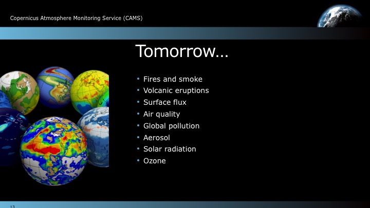 Slide from a PowerPoint presentation Carbon Visuals produced for this project.