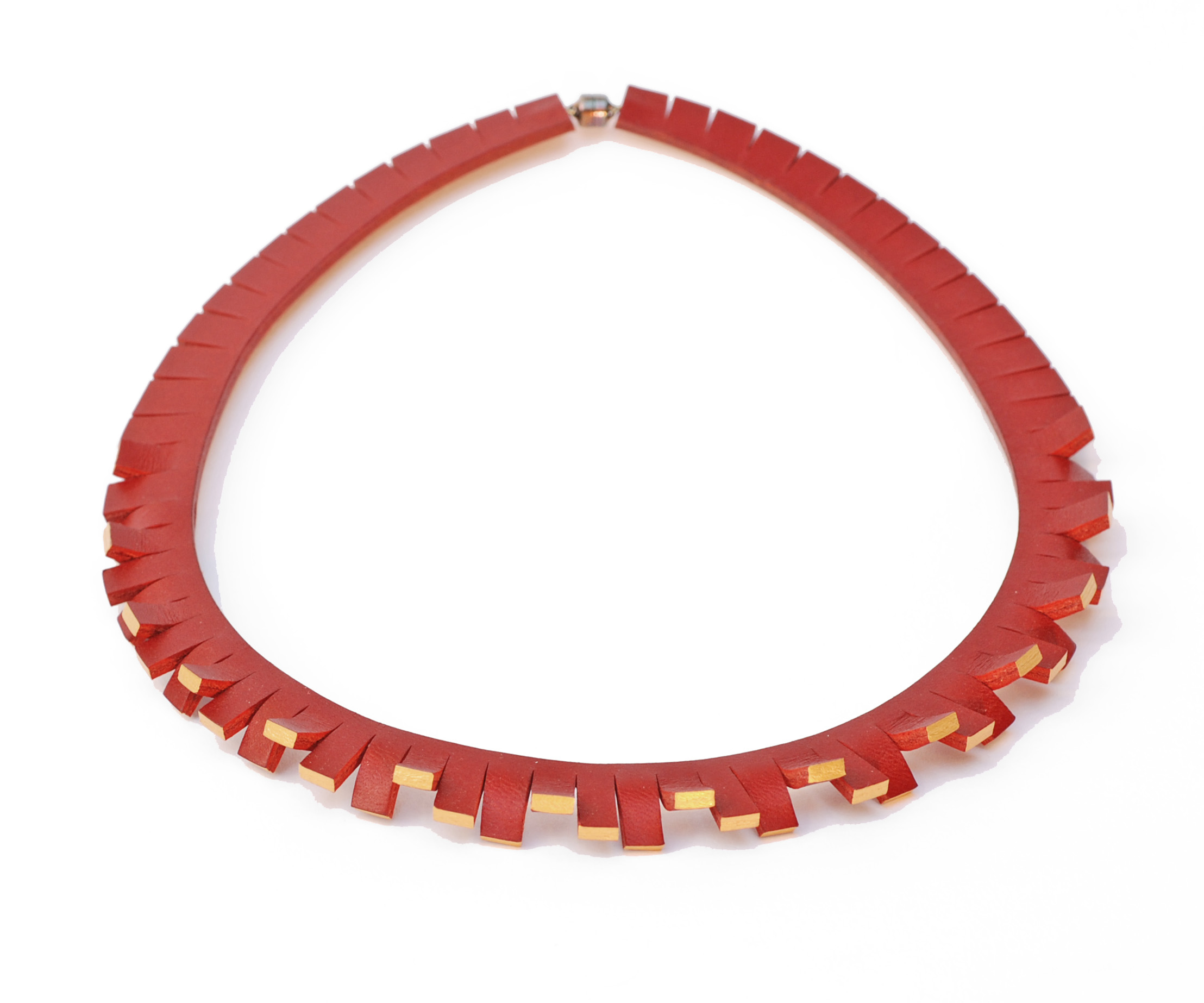 Festival Necklace - Red & Gold.jpg